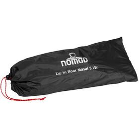 Nomad Zip-In Floor - Accesorios para tienda de campaña - for Masai 5 LW gris